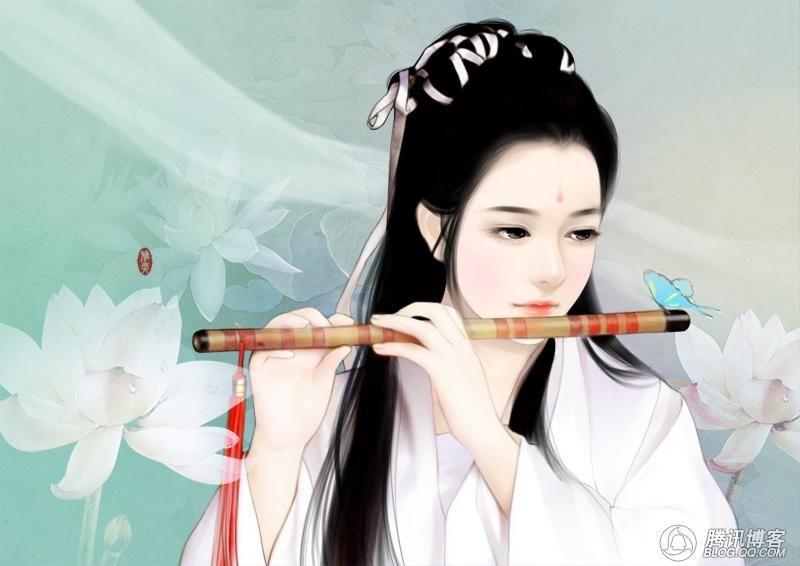 古代女子丹青_百度知道图片