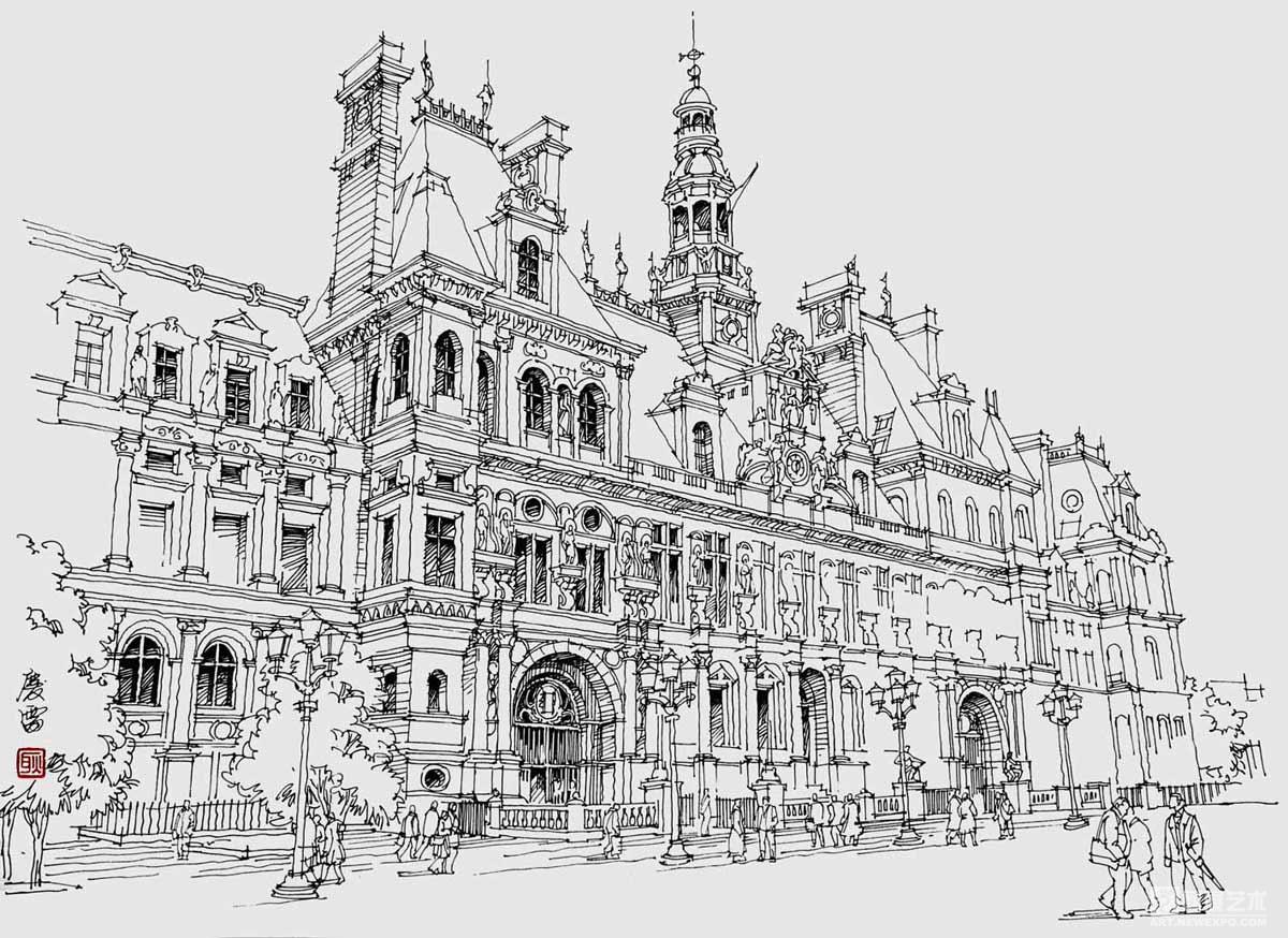 建筑速写…………这是啥建筑图片