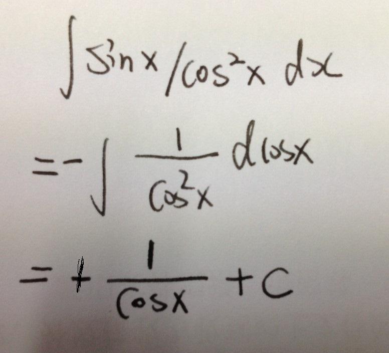 ∫cos 2x/cosx-sinxdx