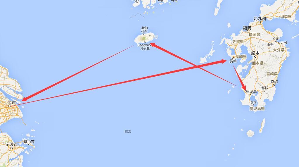 上海到长崎游轮