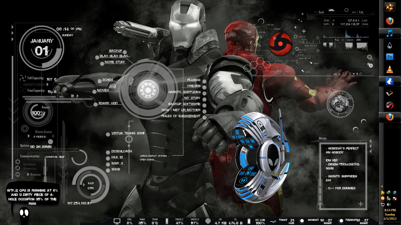 谁有这张钢铁侠的原图?排除掉那些什么图标.只要背景图片