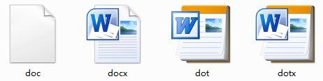 office2010下word97-2003文档(.doc文件)的图标异常,如图,怎么改回来?图片