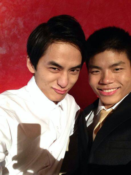 we微笑和苏小妍照片 微笑苏小妍结婚照 苏小妍和微笑的合照图片