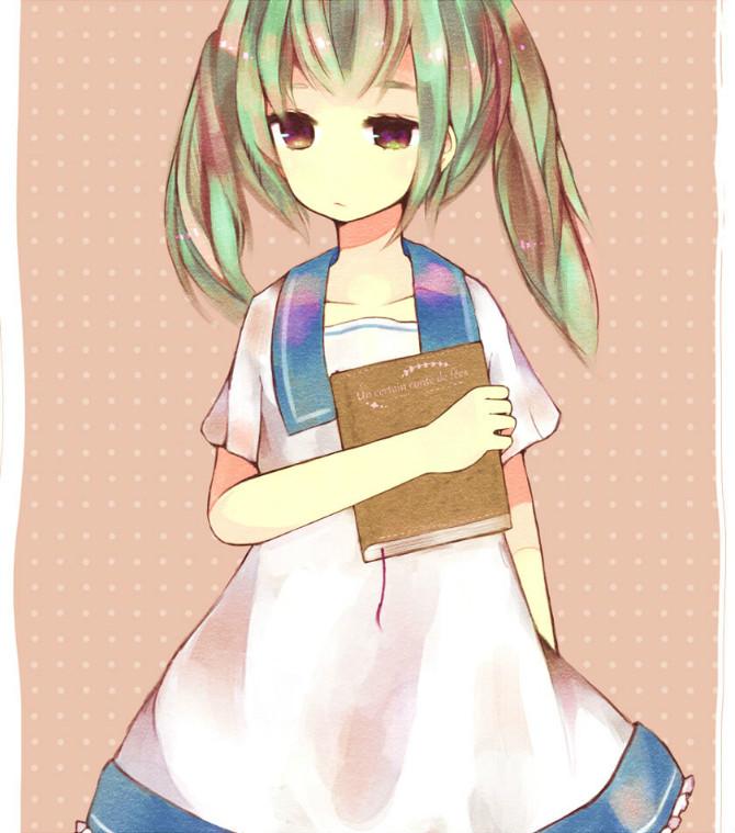 动漫图片女生可爱校服