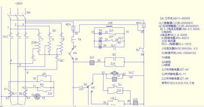 正秦自耦减压起动柜100kw的起动接触器要配多大?电路图图片