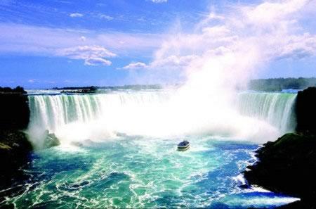 尼亚加拉大瀑布的描写