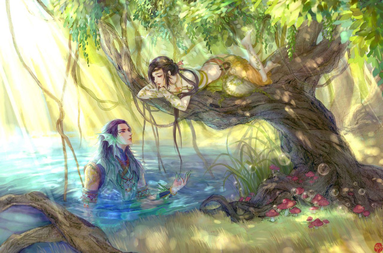 古剑奇谭2同人图,夏夷则阿阮图片