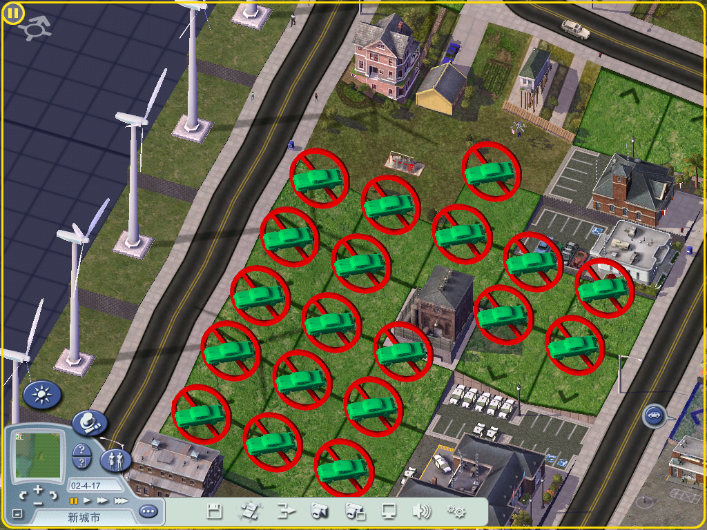 模拟城市4新手问题图片