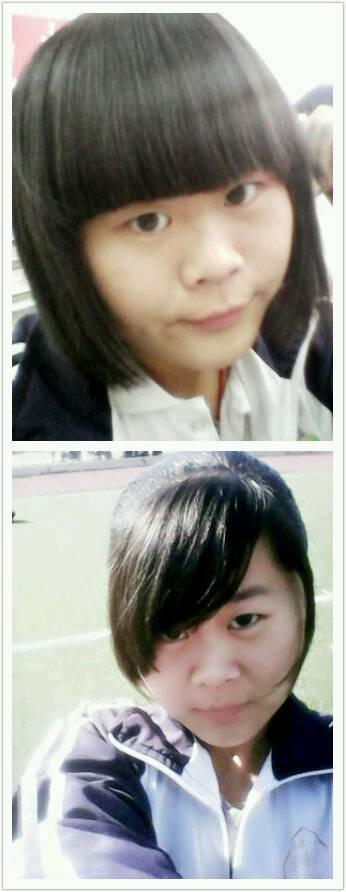 我是短发,鬓角两边的头发总是翘起来图片