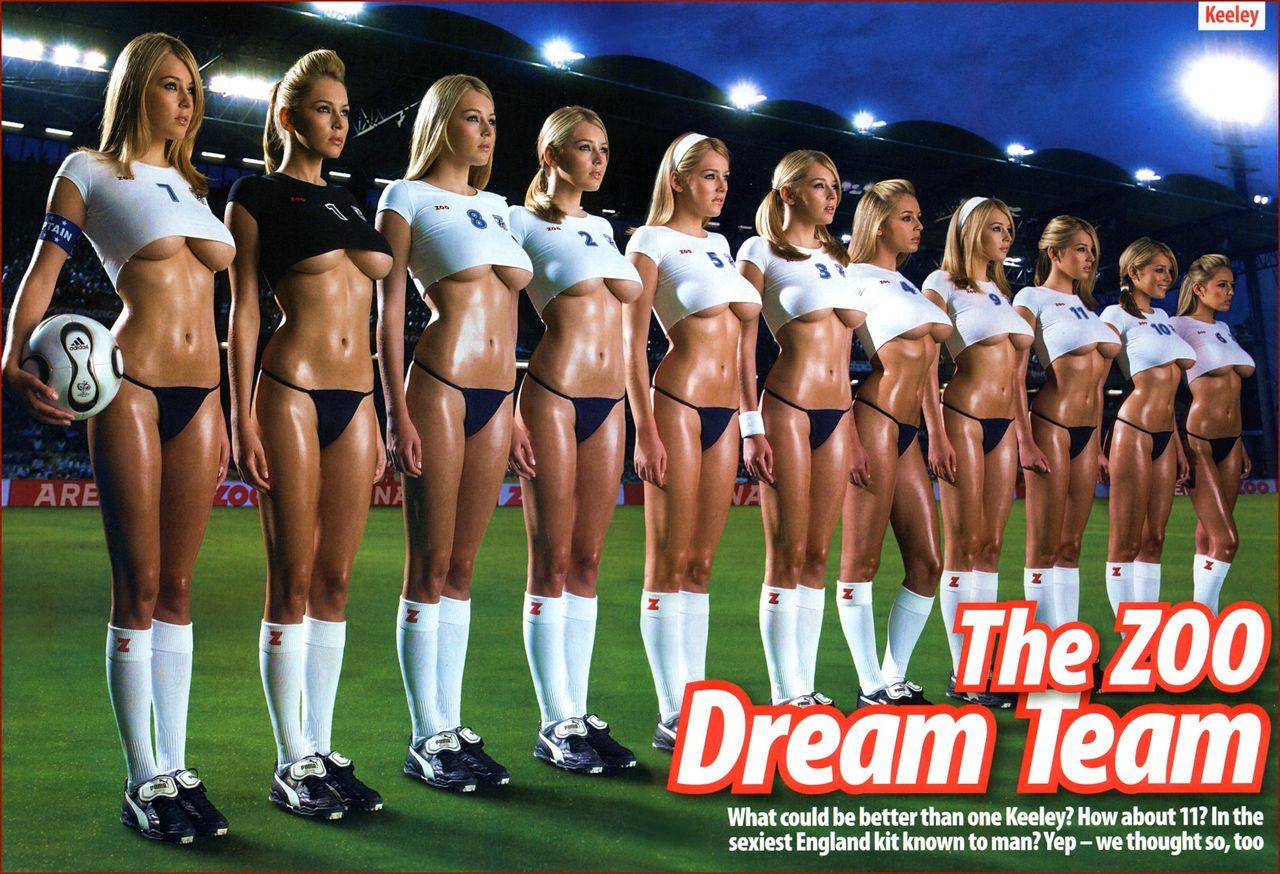 美女成一排抱一个足球是什么电影
