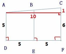 梯形的长怎么算