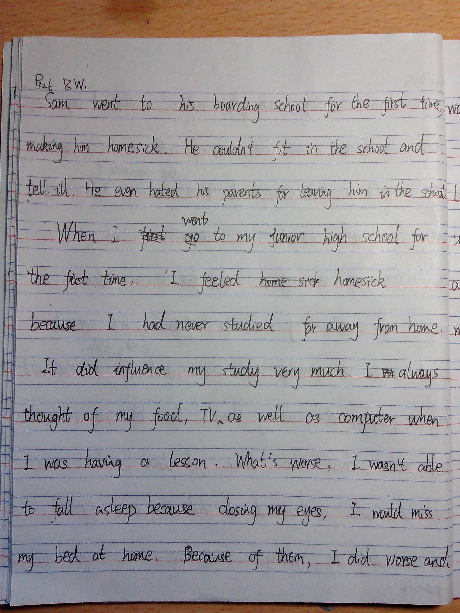 一篇高中英语作文,希望指导图片