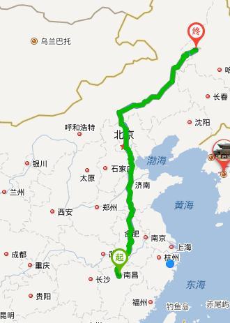 北京到齐齐哈尔自驾游