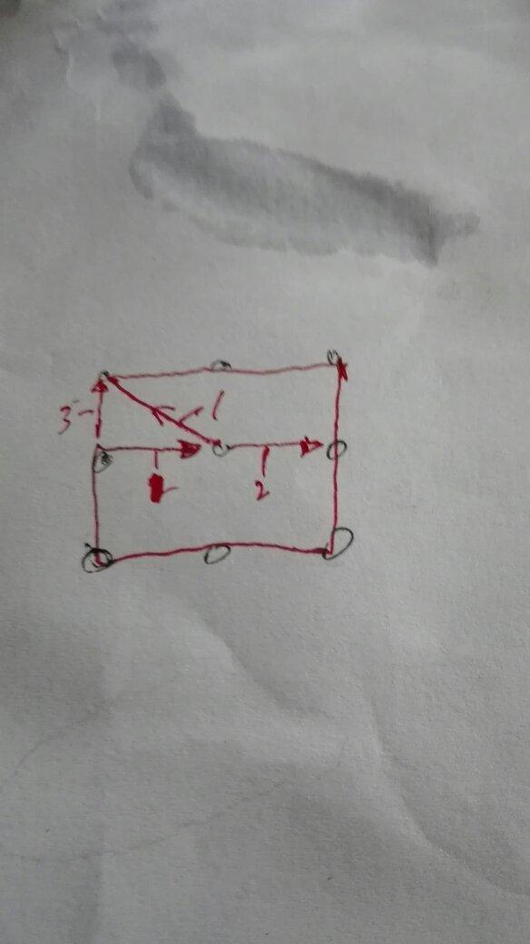 9个点用四条线首尾相连
