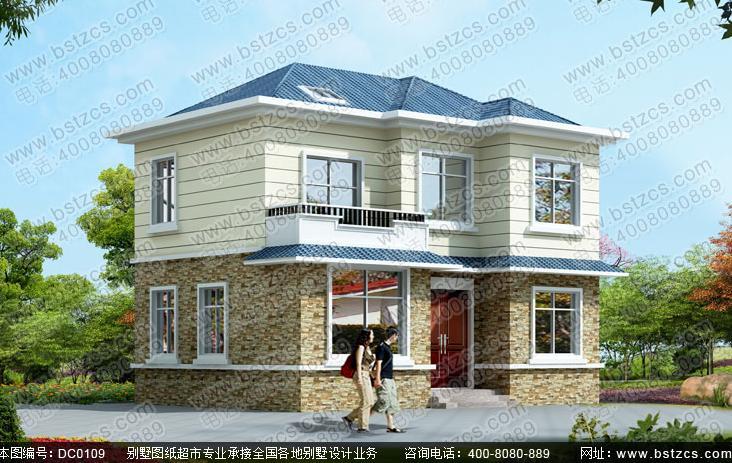 南方新农村三层小别墅设计图