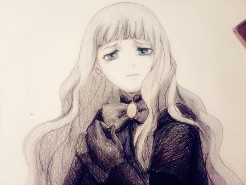 谁有手绘的美少女漫画