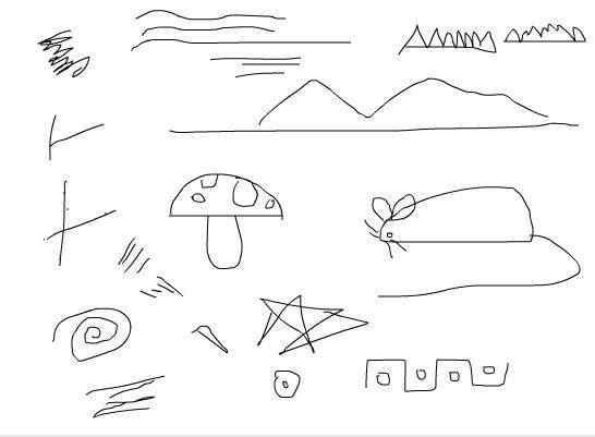 幼儿园线条画的几种表现画法图片