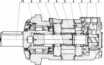 bmp和mps液压马达结构图图片