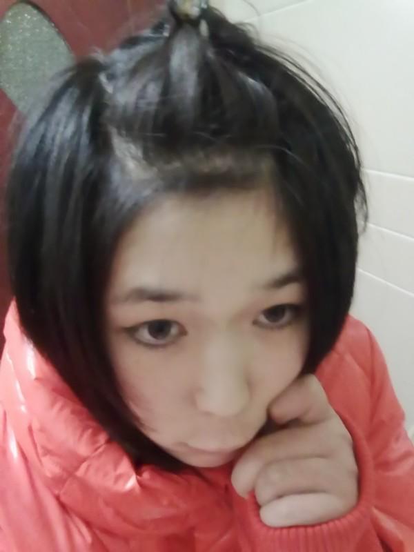 没有刘海怎样扎头发图片