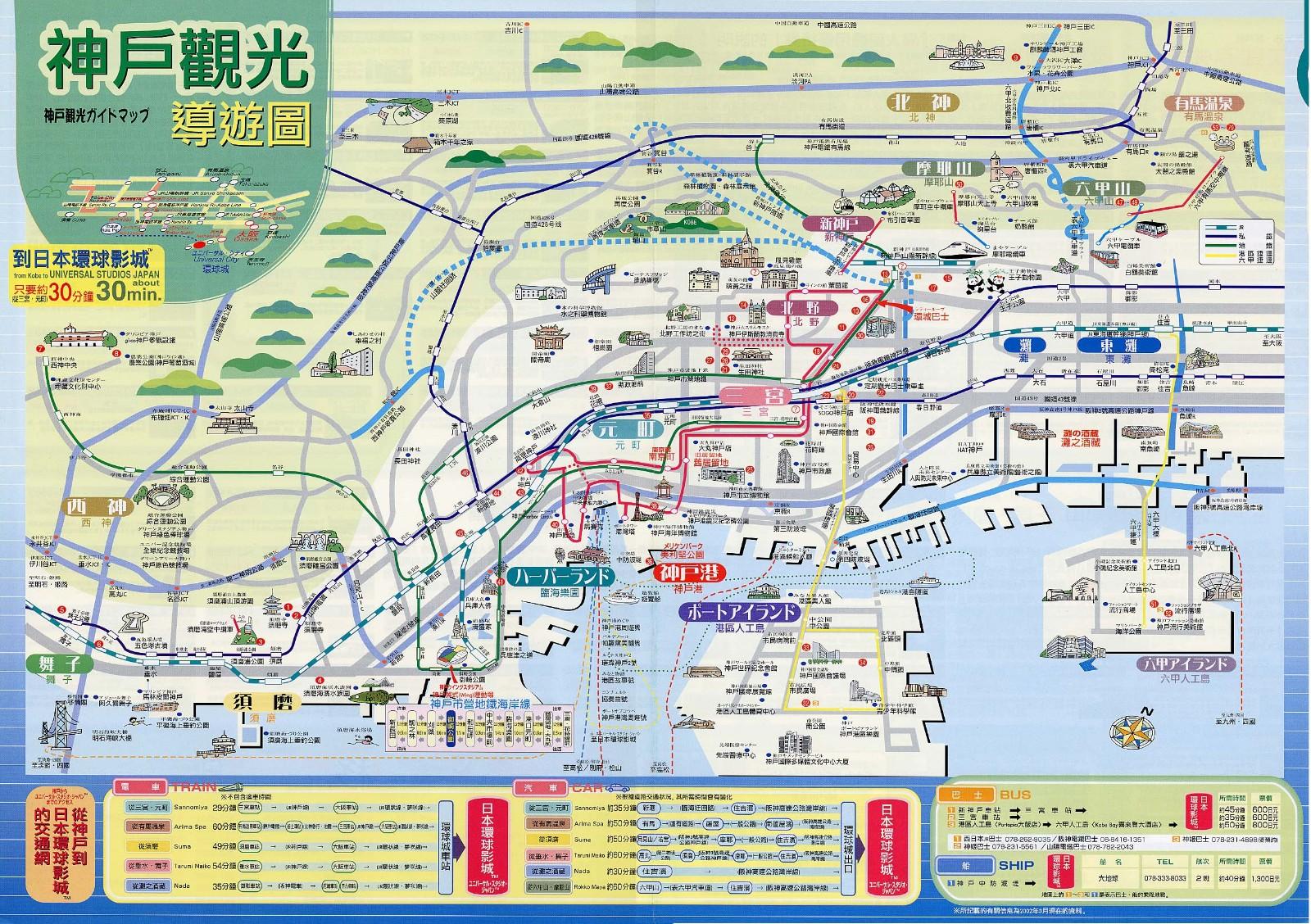 心斋桥到神户奥特莱斯