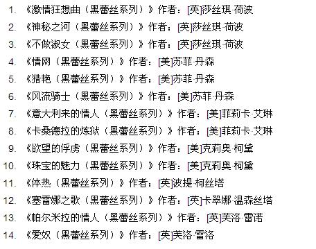 香艳小说合集txt下载