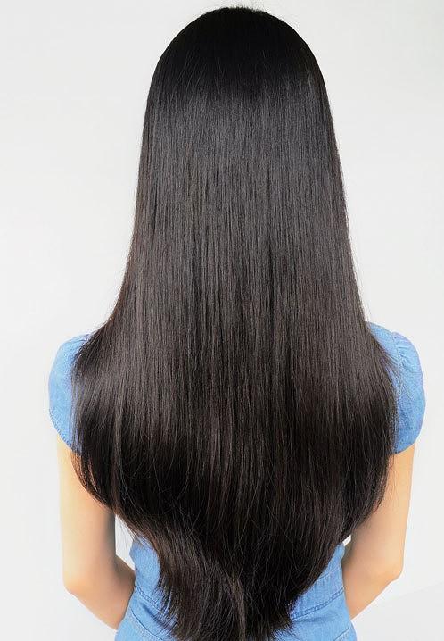 如何让我的头发像图片中的头发一根一根的图片