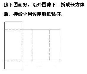 长方体,正方体怎么做?