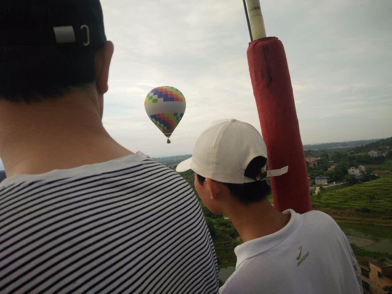 坐热气球多少钱