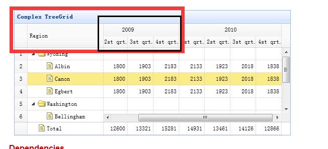 easyui datagrid表格样式设计图片