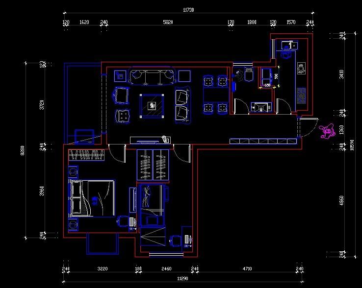 2米 房屋设计图.详细看简图.图片