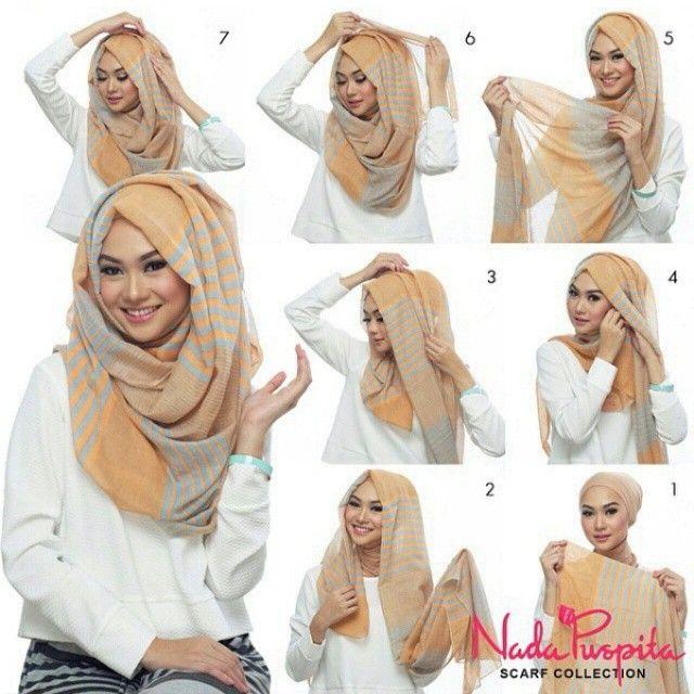 穆斯林戴纱巾图片内容|穆斯林戴纱巾图片版面设计
