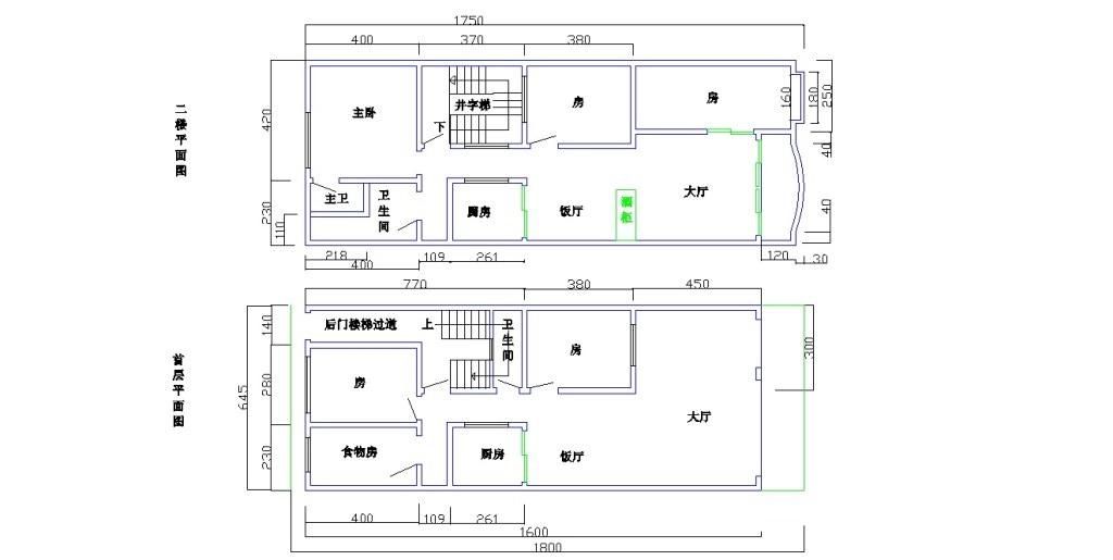5米,宽6.5米的3层房屋设计平面图,谢谢图片