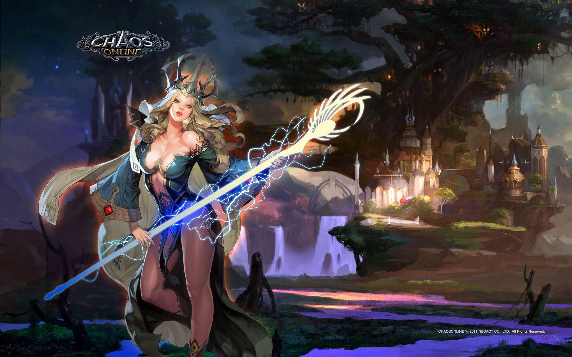 哪些游戏中有类似魔兽世界的美女?