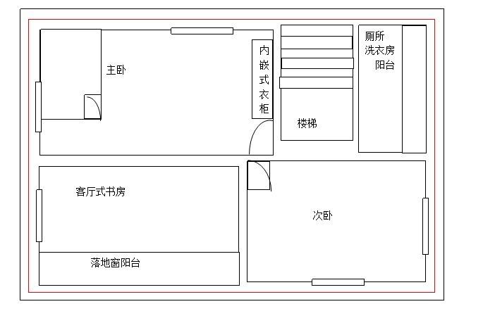 90平方房屋设计图图片