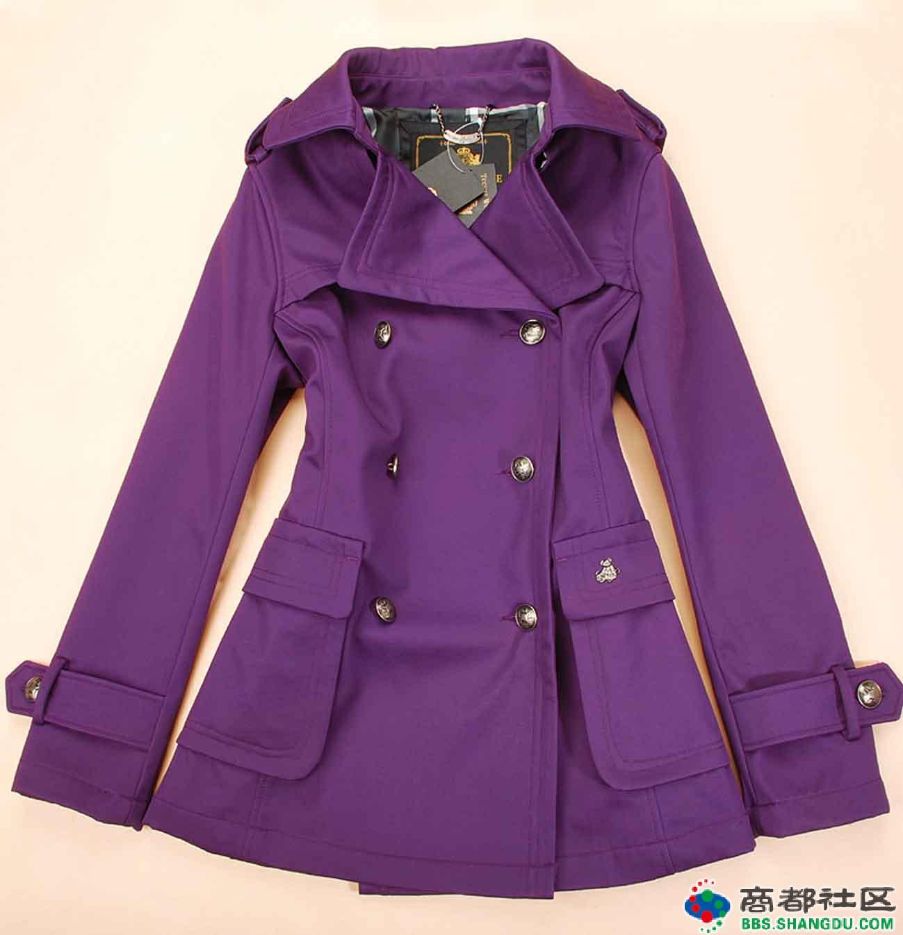 紫色半裙配什么上衣_紫色外套里面配什么颜色的衣服才好看?