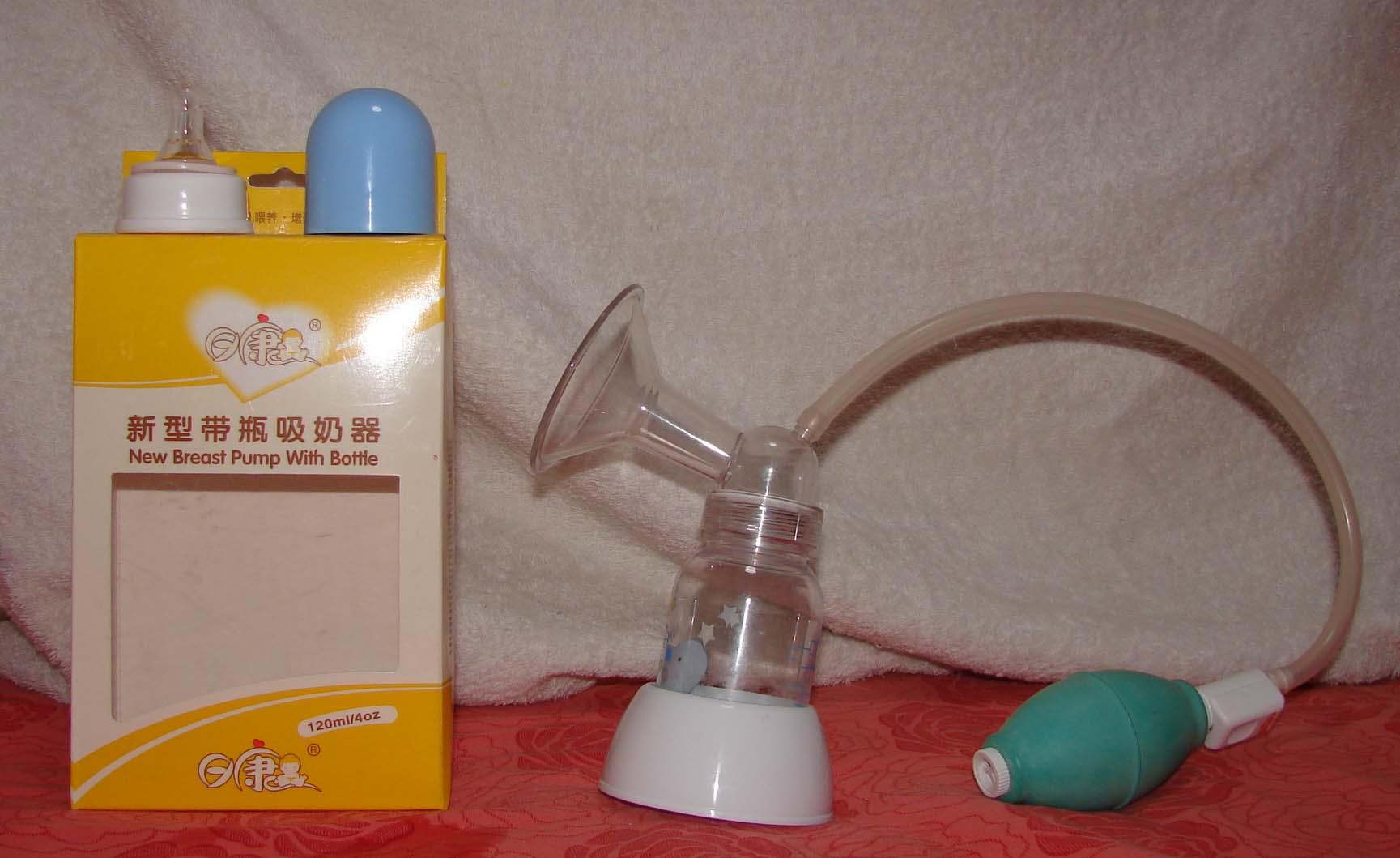 如中途需停止吸乳 务必把吸乳器置于底座中