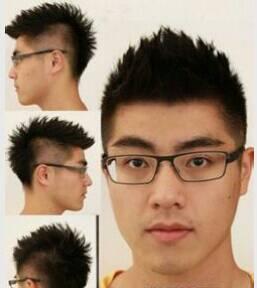 头大脸大的男生适合的发型