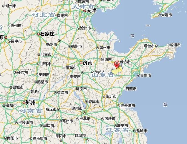 山东省安丘市_想知道: 中国 谷歌地图山东省安丘市 在哪
