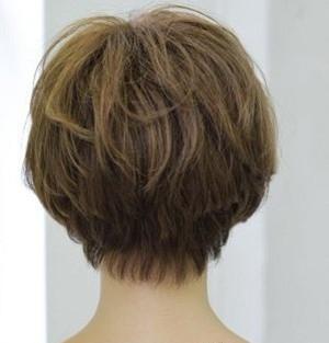 这种头发后面的发型叫什么名字?图片