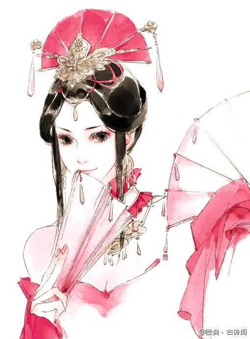 古代女子素描图谁能给我发几张?