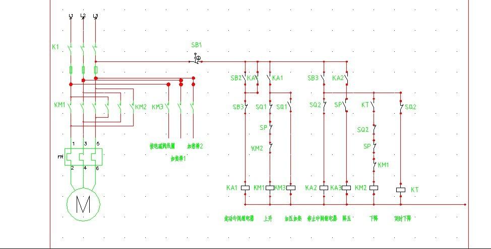 电机直接启动电路图 电机直接启动电路图 单向直接启动电路图图片