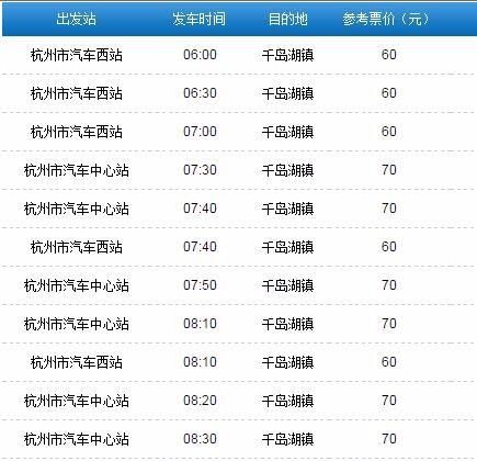 杭州怎么到千岛湖
