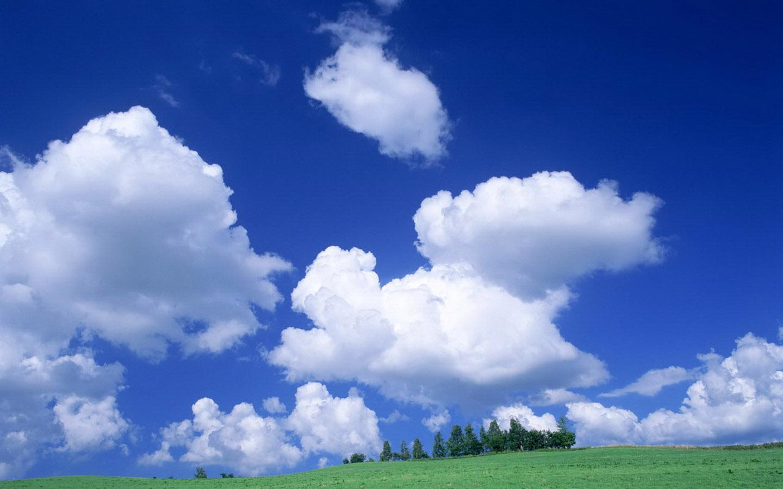 蓝天白云壁纸 xp经典蓝天白云壁纸 蓝天白云桌面壁纸
