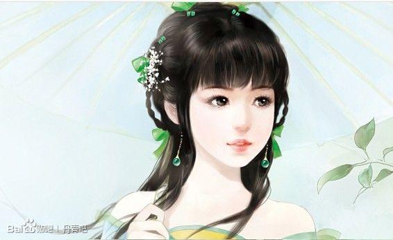 要几张古代公主的丹青图片