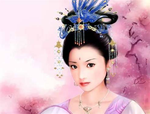 宫斗妃嫔服饰描写,精细一点.
