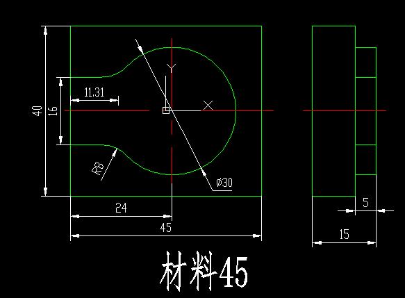 数控铣床零件图纸数控铣床图纸及程序数控铣床工艺品图纸数控铣床图