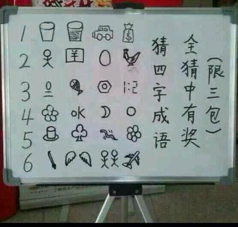 十五个看图猜成语答案_?第一个就被难住了!15个看图猜成语,猜对10个都不容易~