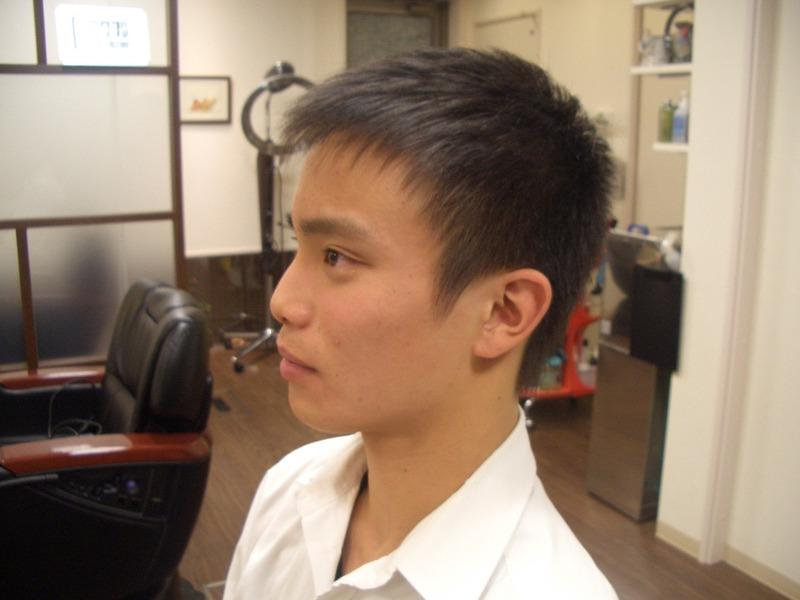 中学生男生发型13