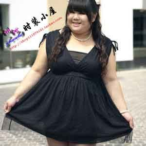 胖人适合穿的衣服图片