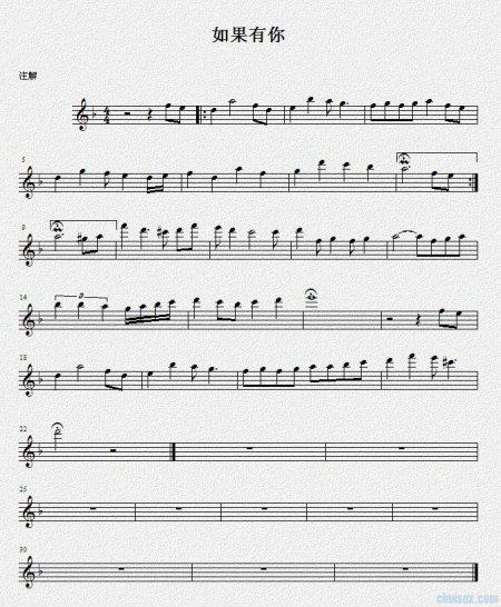 柯南主题曲萨克斯谱降E调的萨克斯的图片
